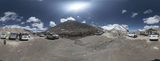 360 view of Chang La (17,590')