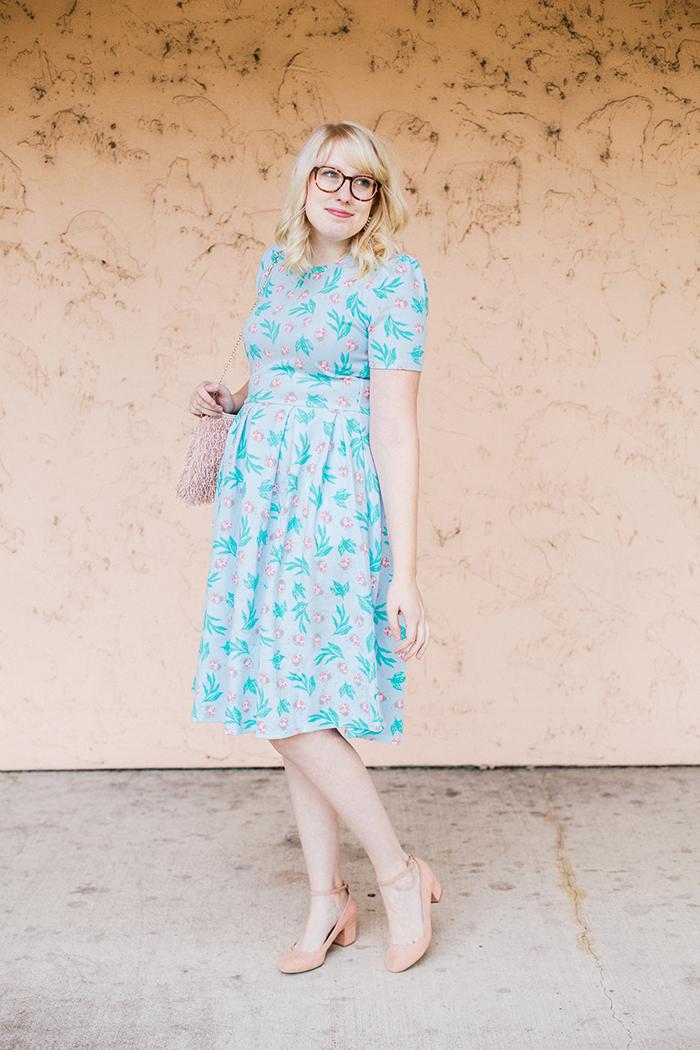 writes like a girl lularoe amelia ladybug dress15