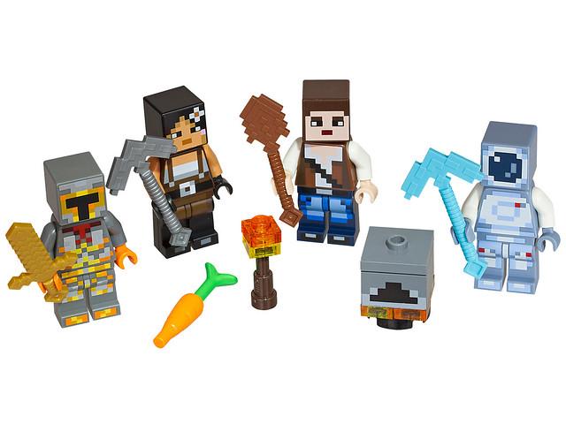 LEGO Minecraft 853610 - Skin Pack