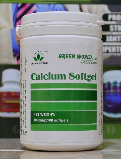 Harga Asli Calcium Softgel Green World