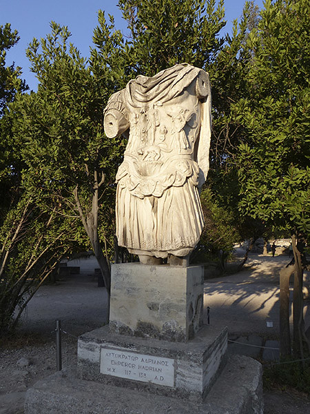 statue d'Hadrien