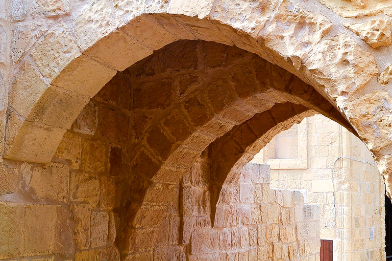 The World In My Pocket - Trip to Gozo - arches at the citadell of Gozo