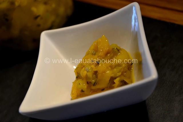 Chutney Mangue & Piments Verts © Ana Luthi Tous droits réservés 016