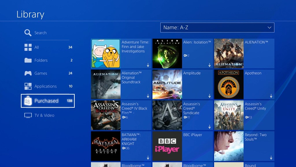 How to organise your games and apps with PS4 folders