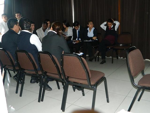n entusConcurso en el Hotel J. Pardo con la participacióiasta de las áreas del Hotel