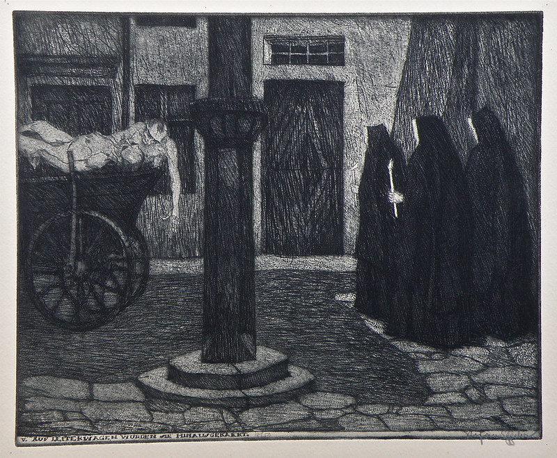 Stefan Eggeler - The Plague of Pestilence, 1920 (5)
