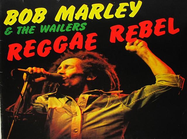 "BOB MARLEY & THE WAILERS REGGAE REBEL 12"" LP"