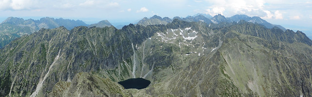 Day Hikes In The High Tatras: View from Krivan peak