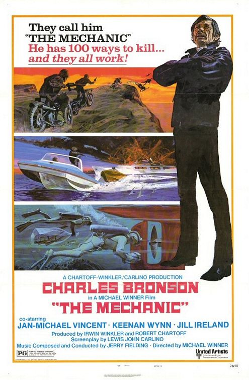 The Mechanic - 1972 - Poster 2