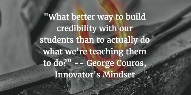 From Innovator's Mindset