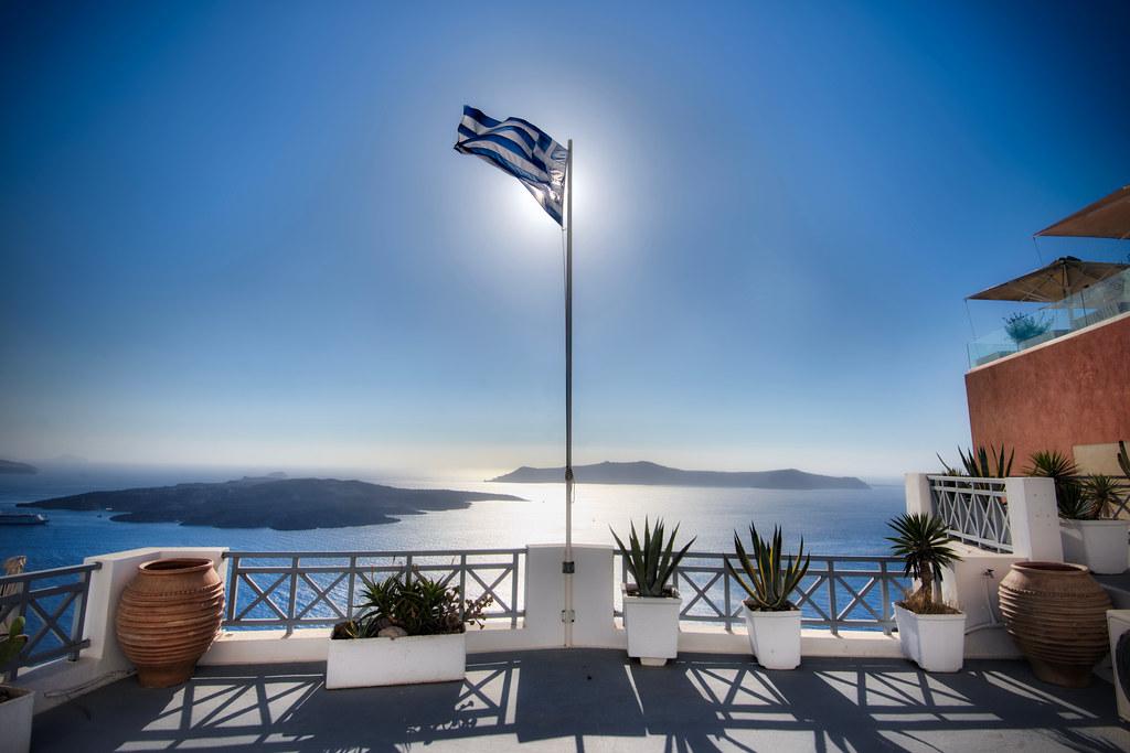 View of Caldera from Fira