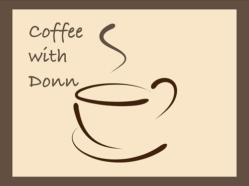 Coffee with Donn logo