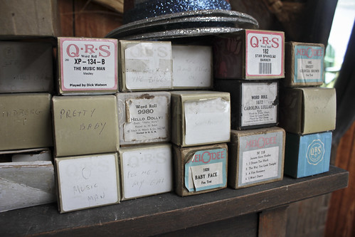 player piano rolls | by woodleywonderworks