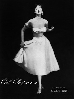 Ceil Chapman 1951 | by myvintagevogue