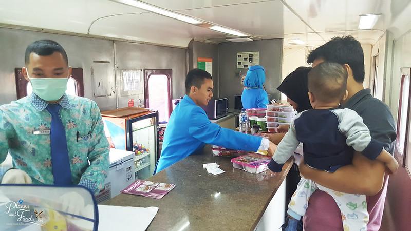 train to bandung canteen