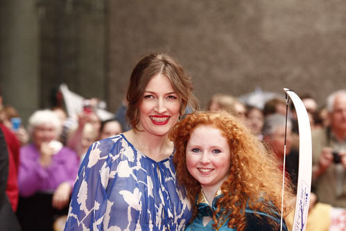 Kelly MacDonald on the red carpet for the European premiere of Brave at the Festival Theatre | by Edinburgh International Film Festival