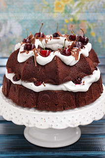 Chocolate and cherry cake | by Irina Kupenska