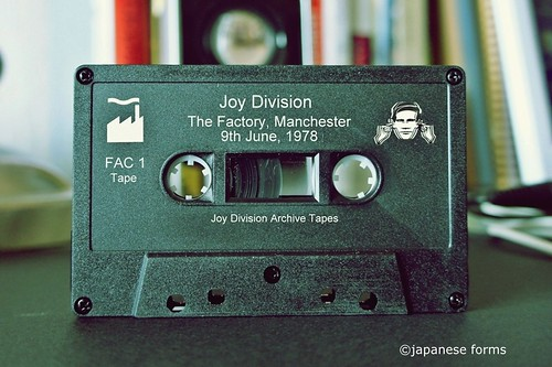 joy division : archive tape 1 | by japanese forms