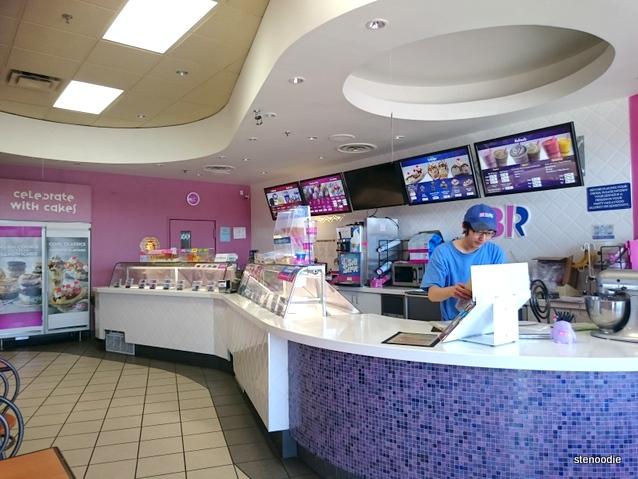 Baskin Robbins Markham location