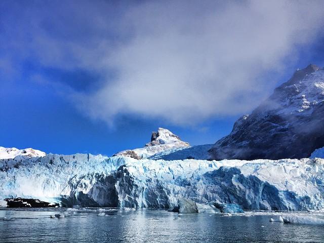 Glacier Spegazzini in Glacier National Park, Patagonia