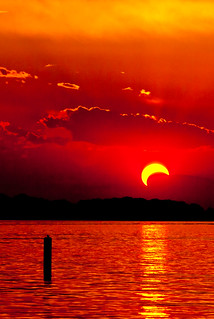 2012 Annular Eclipse Sunset | by TxPilot