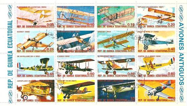 Známky Rovníková Guinea 1979 Letectvo