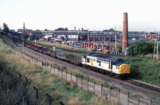 37 378 at St. Andrews Junction on Cardiff Tidal - Lynemouth aluminium empties | by Always Santa Fe