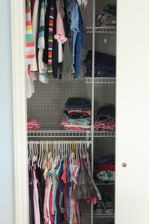 the new closet- my fave part! | by the mayfly