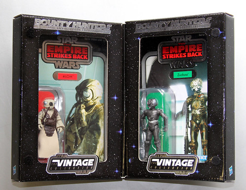 Celebration V exclusive 4-LOM & Zuckuss figures | by Matt & Kristy