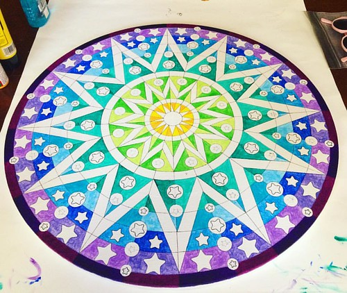 More progress on the Mandala.