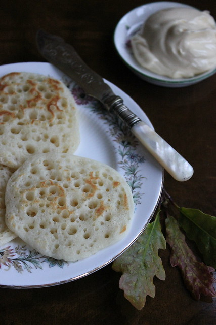 Skillet Pikelets with Salted Honey Butter