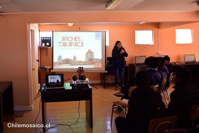 Presentación en Colchane, por el Día del Libro 2015