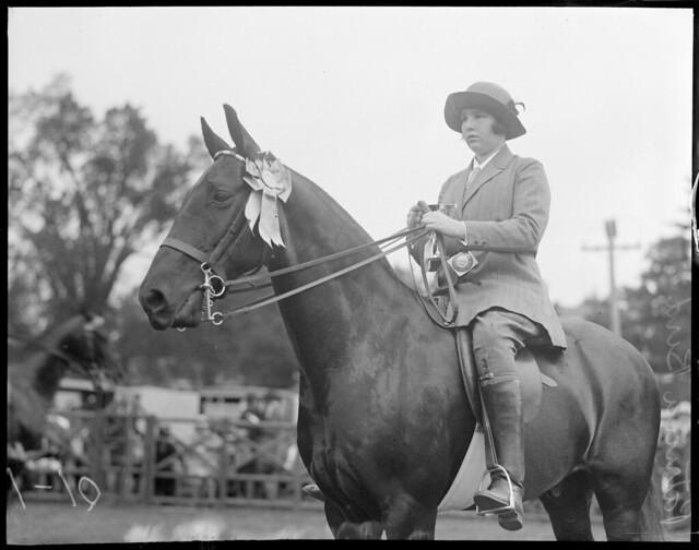 Patricia Bird, horsewoman