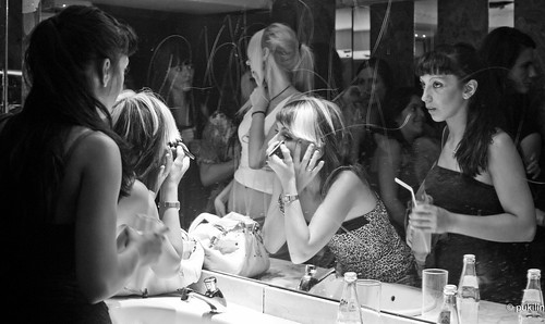 girls' bathroom in a club [EXPLORED] | by pukilin