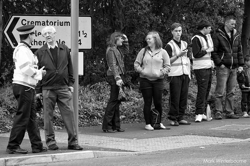 Waiting for the Olympic Torch | Skipton | by Mark Winterbourne | markwinterbourne.com