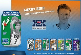 7-Up Dream Team Can - Larry Bird (2012) | by Paxton Holley