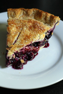 blueberry-nectarine pie | by awhiskandaspoon