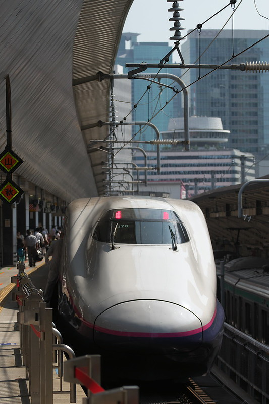 Tokyo Train Story 東北新幹線 2016年8月9日