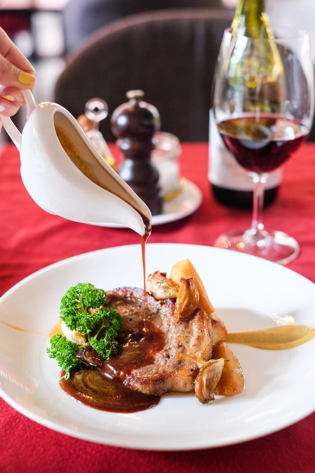 Wine Universe's Grilled Pork Steak