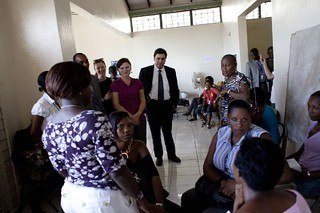 Visite Fonds mondial | by PNUD HAITI Photostream