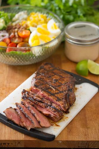 Southwestern Steak Cobb