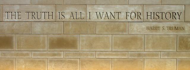 Harry Truman's Philosophy?
