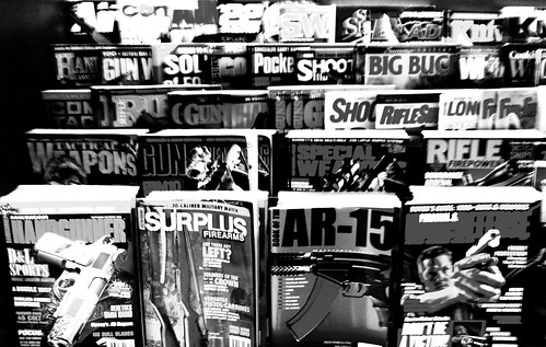 and more guns... 1207211704BW | by Patrick Feller