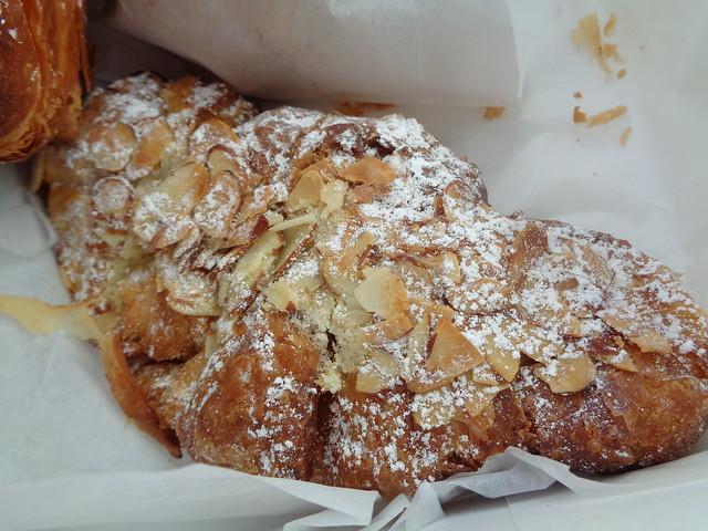 Almond Croissant, La Boulangerie, New Orleans LA