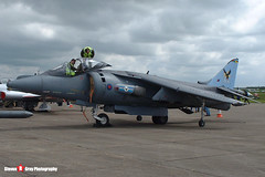 ZD375 - P23 - Royal Air Force - British Aerospace Harrier GR7 - Duxford - 010506 - Steven Gray - ZD375