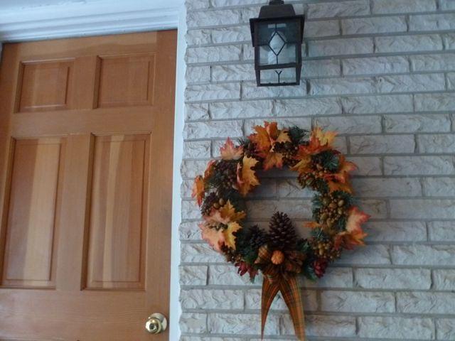Autumn Wreath ~ From My Carolina Home