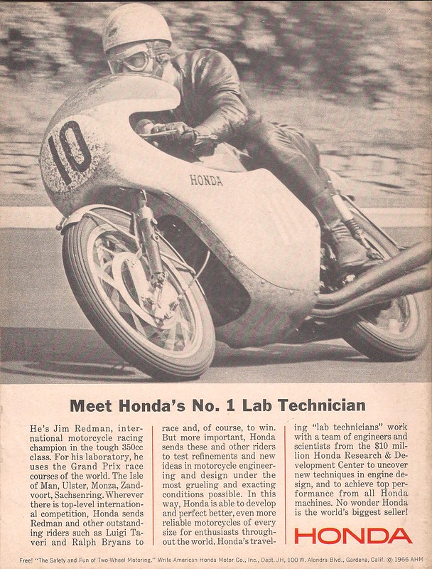 Honda Jim Redman