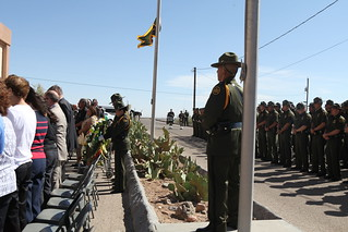 Memorial honors fallen Border Patrol agents | by Congressman Silvestre Reyes