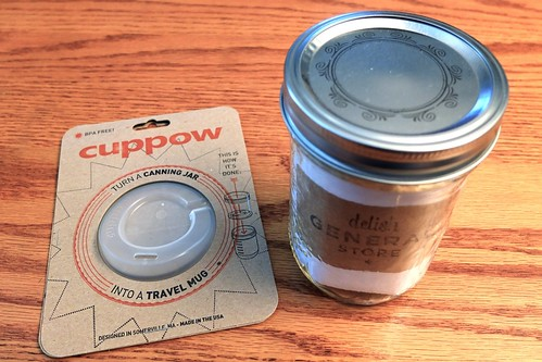 Cuppow Lid Topper | Canning Jar Travel Mug | by rickchung.com