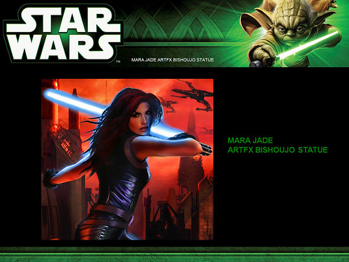 Kotobukiya: ARTFX+ Mara Jade | by The Official Star Wars